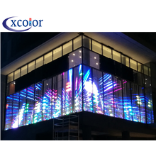 HD P7.81 Indoor Glass Transparent LED Display Screen
