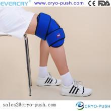 Speziell angefertigte Eisbeutel für Knie-Knie-Ärmel für hochwertige Kältetherapie