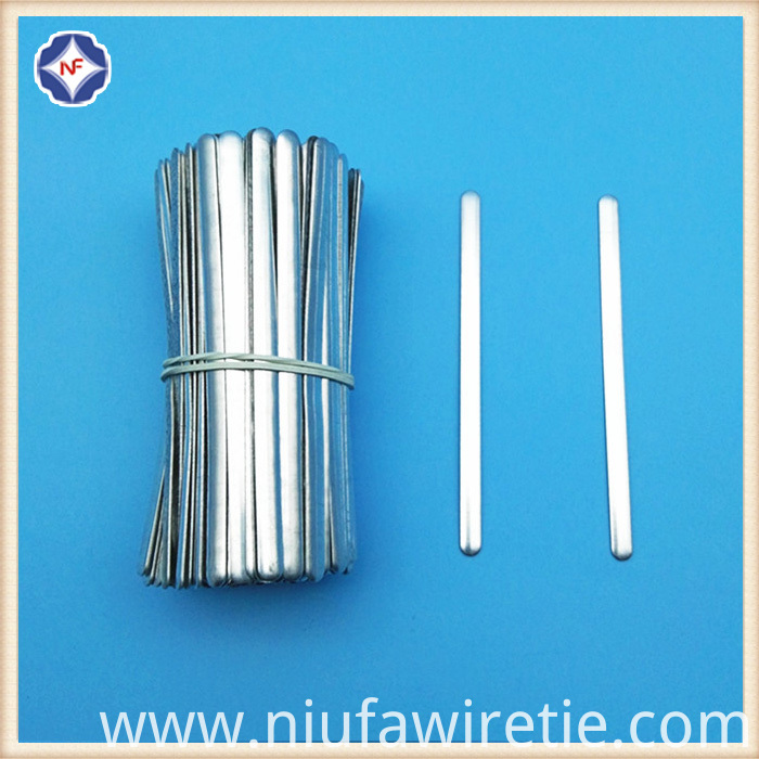 90MM Aluminum Nose Clips/Wires For N95 Dust Mask China Manufacturer