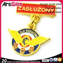 Insignias de medalla troqueladas de estilo clásico