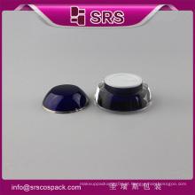 J032 frasco de skincare de forma cone, frasco de creme de luxo e vazio acrílico