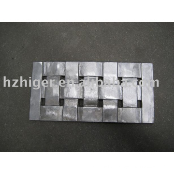aluminum die casting rectangle chair back furniture parts