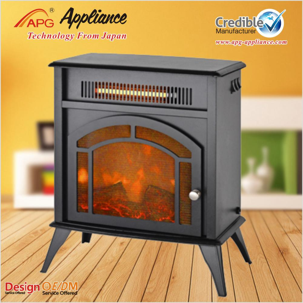 APG NEW Heating Electric Fireplace Heater