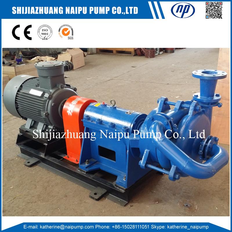 Filter feed slurry pump
