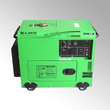 Gerador diesel silencioso portátil do uso home 3kw (DG3500SE)