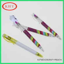 New designed ballpoint pen with led torch for promotional gift