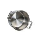 Kochgeschirr aus reinem Titan setzt Kochtöpfe