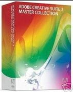 Adobe Creative suit 3 master collection retail box