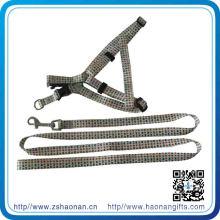 Vente en gros de haute qualité personnalisé usine prix Stretch Nylon Dog Leash