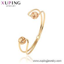 52049 Gros design spécial dames bracelet gracieux 18k plaqué or bijoux