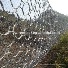 Redes de proteção flexíveis Rockfall Barreiras de fluxo de detritos