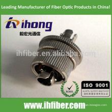 ST / UPC Singlemode Optical mecânico ajustável Atenuador 0-30db