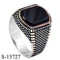 Anillo de joyería de plata de ley 925 de diseño de gama alta