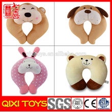 made in china kids animal plush pillow animal u pillow
