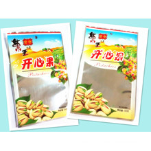 Plastic 3 Sides Seal Pistachio Nuts Food Packaging Pouch