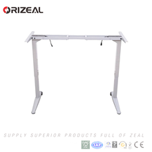 UL&CE certified Electric height adjustable sit standing computer lifting office desk with controller