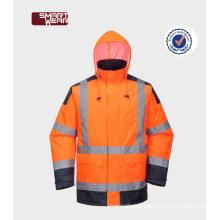 China Factory Workwear Polyester Safety Reflective Hi Vis Workwear