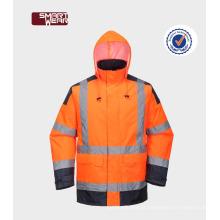 Workwear reflexivo do Vis da segurança do poliéster do Workwear da fábrica de China olá!