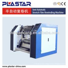 Rebobinador cortador de filme stretch personalizado automático