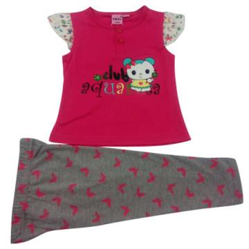 Sommer Baby Girl Kinder Anzug in Kinder Kleidung