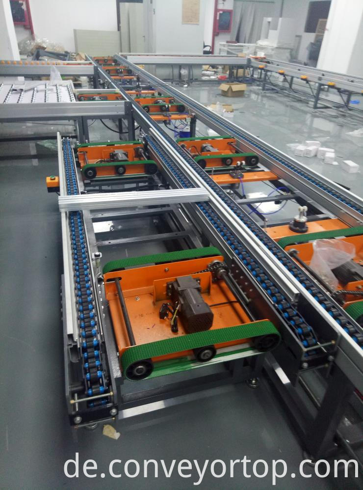 stainless steel speed chain conveyor