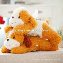 La production professionnelle en peluche animal boîte de tissu fait sur commande en peluche tissu boîte couverture animaux chien jouets