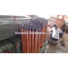 PVC revestido madeira vassoura lidar