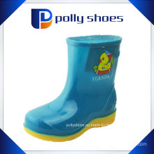 Durable Kids Rubber Rain Boots Multi Colors