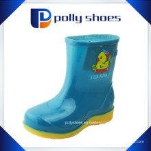 Durável crianças borracha chuva botas multi cores
