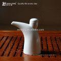 Inicio Uso de la Cocina Blanca Único Diseño Bone China botella Bote de vinagre