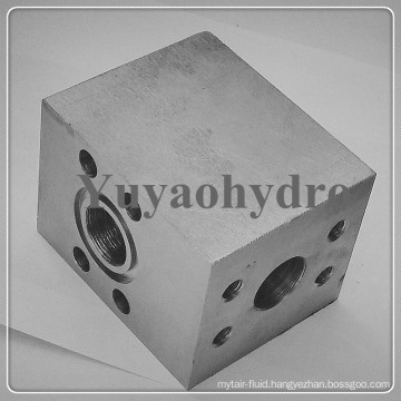 SAE Single Part Butt Weld Counterflange Block for Low Pressure Tubes