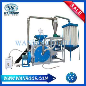 Máquina de Pulverizador de plástico de resíduos PP / PE / PVC
