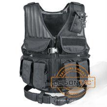 Veste tactique avec ISO standard Nylon Mesh veste imperméable avec Nylon fil cousu