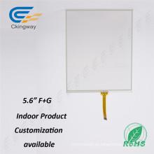 """Ckignway Fabricante 5.6 """"Touch Screen Overlay Pin 4 Conector de enchufe Kit de panel táctil"""