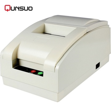 Tiket portabel pos dot matrix tiket printer Bluetooth