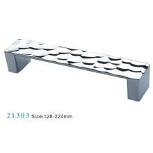 Liga de zinco móveis alça de armário (21303)