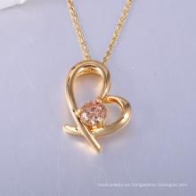 venta caliente y joyería de alta calidad del corazón de San Valentín hecha en China