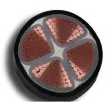 Изоляцией из сшитого полиэтилена с изоляцией из сшитого полиэтилена, силовой кабель высокого напряжения 0.6 / 1кв Без брони