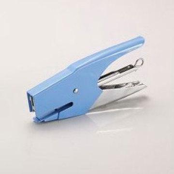 Grapadora de oficina azul