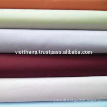 """65% polyester + 35% coton peigné TISSU TISSÉ / teint - couleur foncée / uni / largeur: 59 """""""