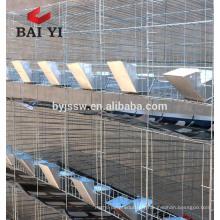 Nouvelle cage industrielle de lapin de conception pour l'agriculture