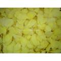 IQF congelada floco de gengibre amarelo fatias