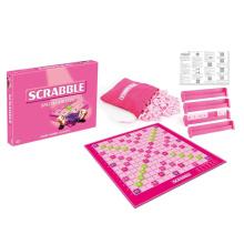 Crianças intelectual ortografia jogo plástico scrabble (10244043)