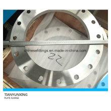 Brida de la placa frontal plana En1092-1 Brida tipo01 de acero inoxidable