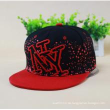 Mode gestickte bedruckte Baumwolle Twill Hip Hop Trukfit Cap (YKY3304)