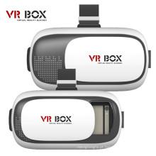Cheap Virtual Reality Óculos 3D Vr Box + Bluetooth Remote para iPhone Android