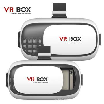 Cheap Virtual Reality 3D Glasses Vr Box +Bluetooth Remote for Android iPhone