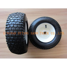 rubber wheel 5.00-6 with steel rim