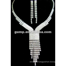 Latest bridal wedding jewelry set (GWJ12-467)