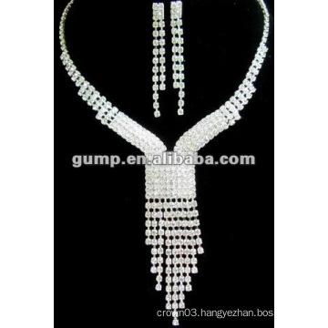 Latest bridal wedding jewelry set (GWJ12-467)